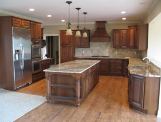 Kitchen Express Cherry Cabinets - Cherry Gallery 2