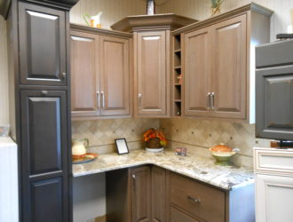 Kitchen Express Cherry Cabinets - Cherry Gallery 7
