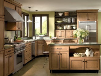 Kitchen Express Homecrest Maple Cabients - Maple Gallery 9