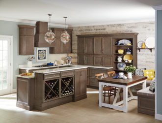 Kitchen Express Homecrest Maple Cabients - Maple Gallery 7