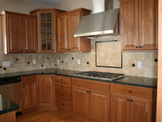 Kitchen Express Cherry Cabinets - Cherry Gallery 8