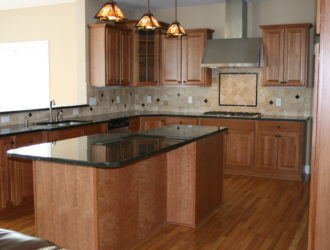 Kitchen Express Cherry Cabinets - Cherry Gallery 9