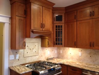 Kitchen Express Cherry Cabinets - Cherry Gallery 10