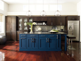 Kitchen Express Omega Cherry Cabinets - Cherry Gallery 12