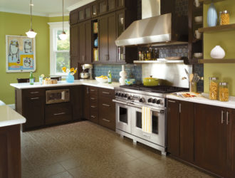 Kitchen Express Omega Cherry Cabinets - Cherry Gallery 13