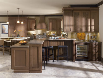 Kitchen Express Omega Cherry Cabinets - Cherry Gallery 14