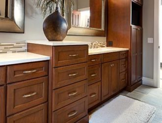 Kitchen Express Cherry Cabinets - Cherry Gallery 15