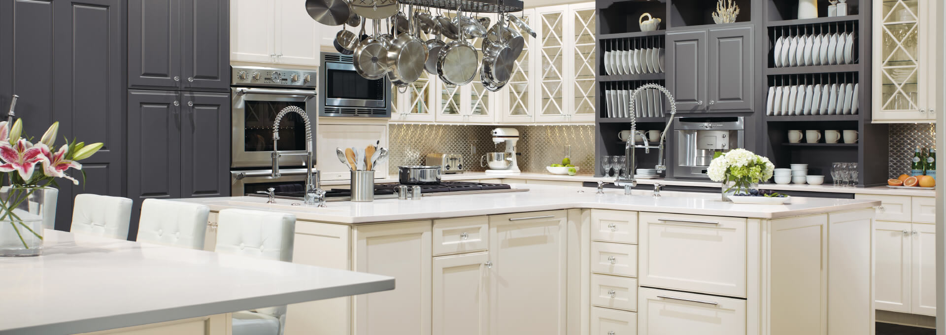 Etonnant Kitchen Express Two Toned Kitchen Cabinets