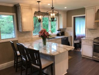 Omega Painted Kitchen Cabinets