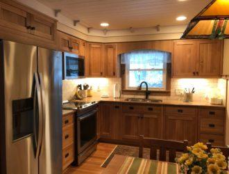 Quatersawn Oak Kitchen Cabinets