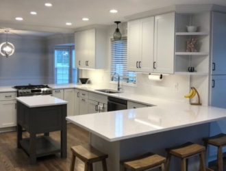 Showplace Painted Kitchen Cabinets