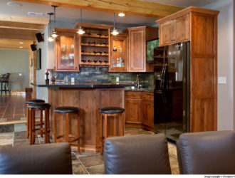 Showplace Hickory Kitchen Cabinets
