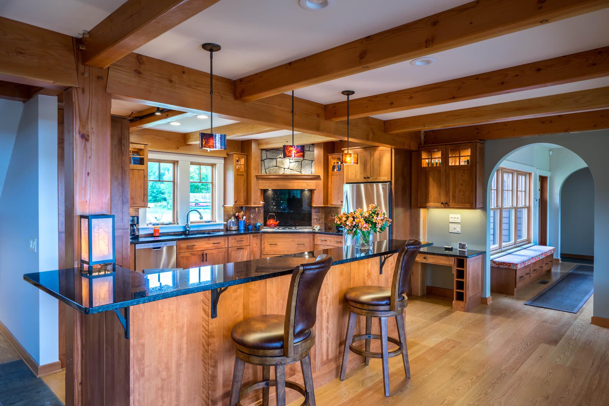 Quartersawn Oak & Red Birch Cabinets | Gallery | Kitchen ...