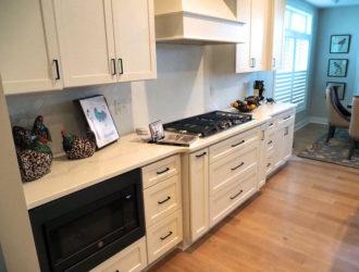 Homecrest Painted Kitchen Cabinets