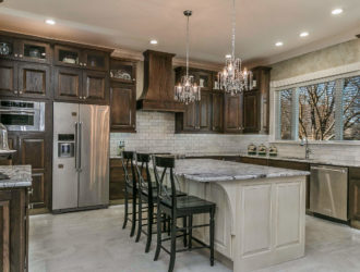 Showplace Oak Kitchen Cabinets