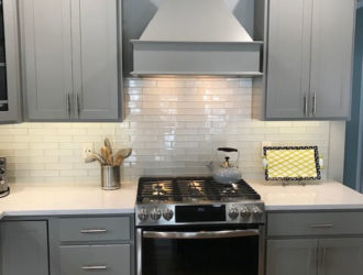 Homecrest Painted Kitchen Cabinets