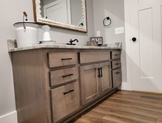 Kith Cabinetry Maple Bathroom Vanity Cabinets