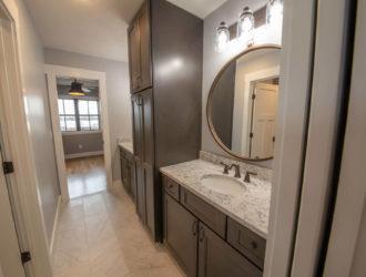 Showplace Maple Bathroom Vanity Cabinets